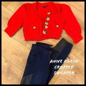 Anne Klein Cropped Sweater
